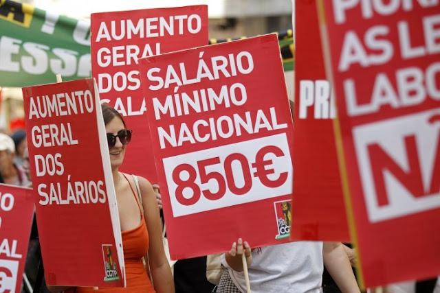 Portugal | Salário de 635 euros é «adequado» para viver?