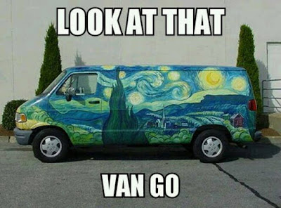 Look at that Van Go