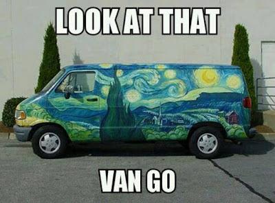 Look at that Van Go