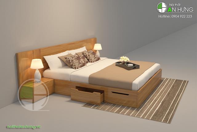 Cách lựa chọn giường ngủ có ngăn kéo phù hợp với không gian