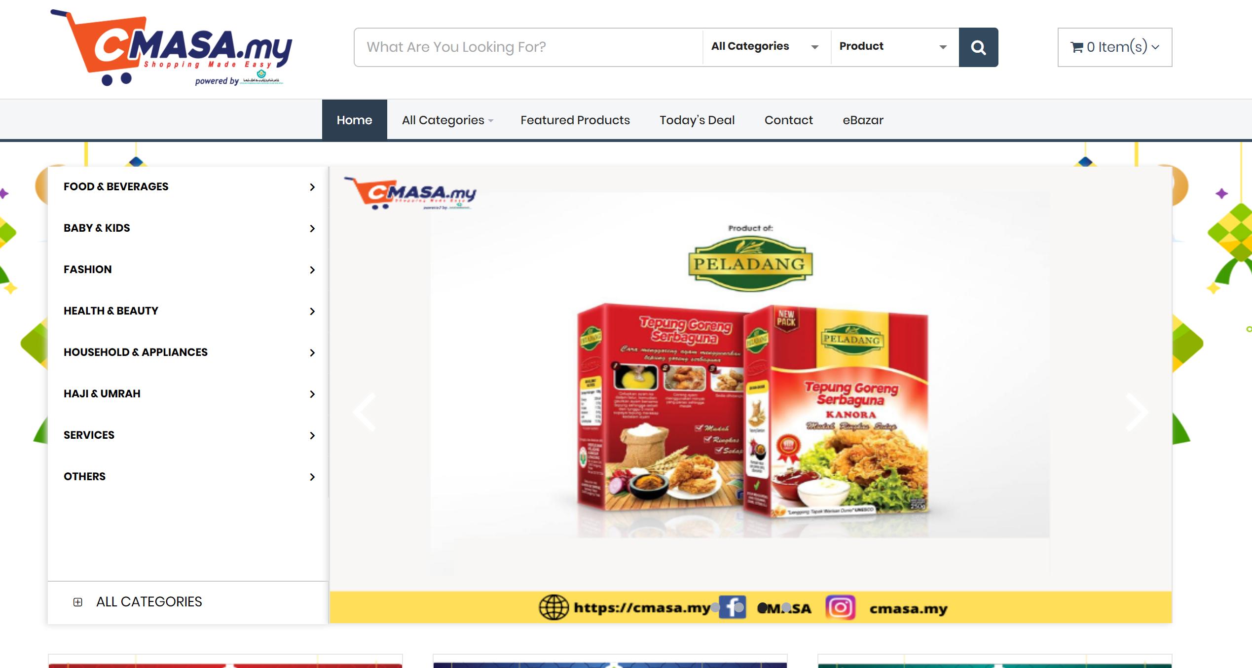 CMASA.my - Platform Membeli Belah Online Terbaru