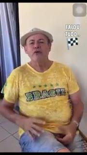 Humorista paraibano Zé Paraíba faz resumo dos dias atuais e pandemia