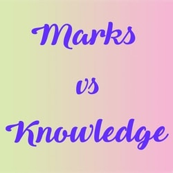 Marks Knowledge in our society