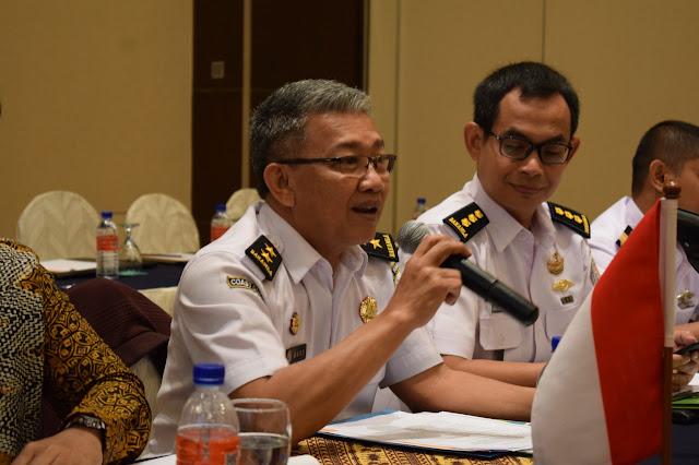 Bakamla RI Lakukan Review Meeting ke-6 Terkait Wilayah Tumpang Tindih dengan Malaysia