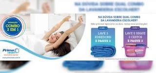 Promoção Prima Clean Lavanderias 2019 Combo 2 em 1 - Mês Junho Julho e Agosto
