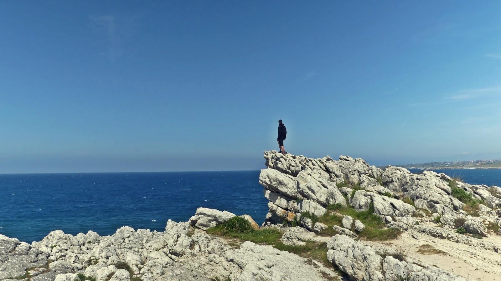 La virgen del Mar klify Santander