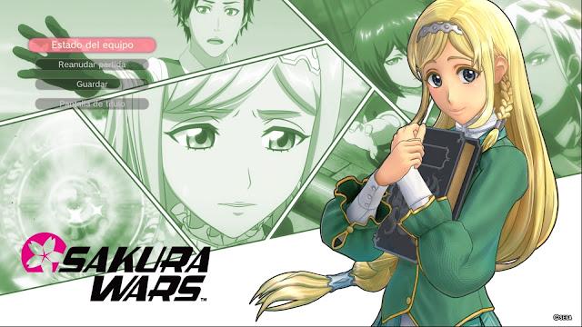 Sakura Wars Capítulo 2 Un Cúmulo de dicha Claris
