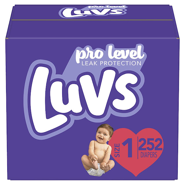 Luvs Triple Leakguards Extra Absorbent Diapers