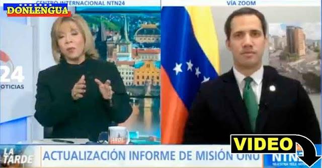 Idania Chirinos le da hasta con el tobo a Juan Guaidó por no hacer nada