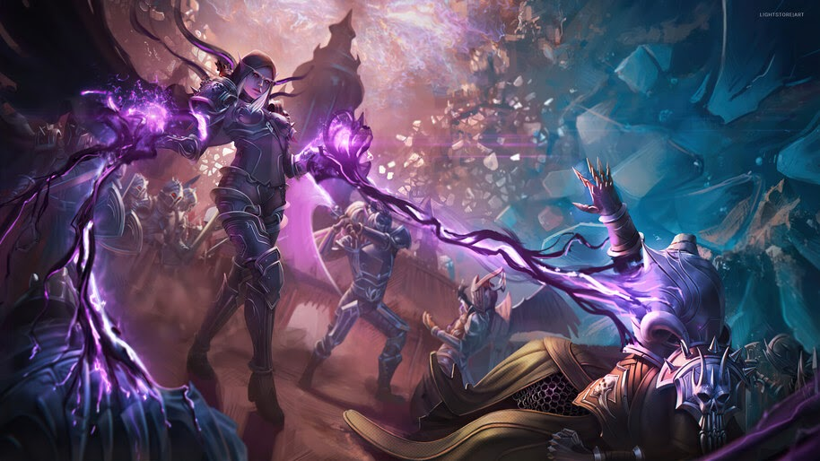 Sylvanas Windrunner, World of Warcraft, 4K, #3.2712