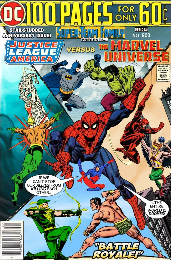 Super-Team Family: The Lost Issues!'