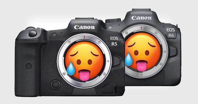 Canon: Seri problemi di surriscaldamento per le nuove EOS R5 ed R6