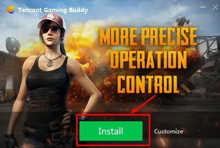 download tencent gaming buddy for PUBG Mobile