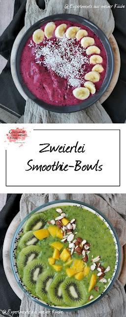 Zweierlei Smoothie-Bowls | Rezept | Frühstück