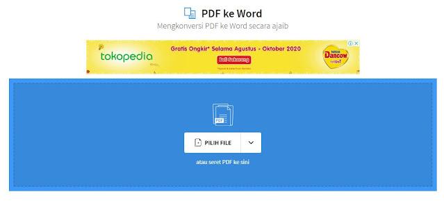Cara Mengubah Dokumen PDF ke Word
