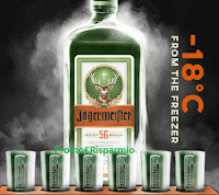 Logo ''Jagermeister - Ice Cold Shot'': gioca e vinci 600 vassoi porta shot e 1 voucher Jagerparty