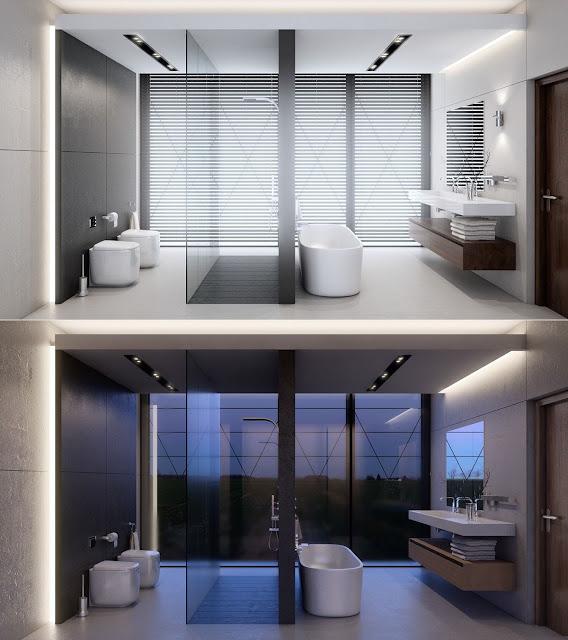 Bathroom Marble Design