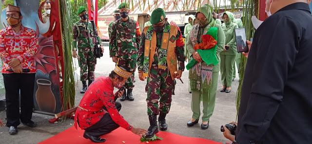 Jalin Silaturahmi, Danrem 102/PJG Brigjen TNI Purwo Sudaryanto Kunker Ke Kabupaten Kapuas