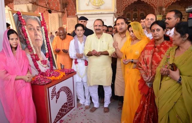 यादों के झरोखे से... : फिर साकार होगा राजमाता गायत्री देवी का वो दुर्लभ इन्टव्यू