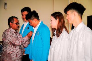 Program Student Exchange Ke Polije,   Mahasiswa Jiangsu China Angkatanke 8