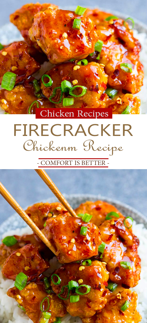 The Best Firecracker Chicken Recipe
