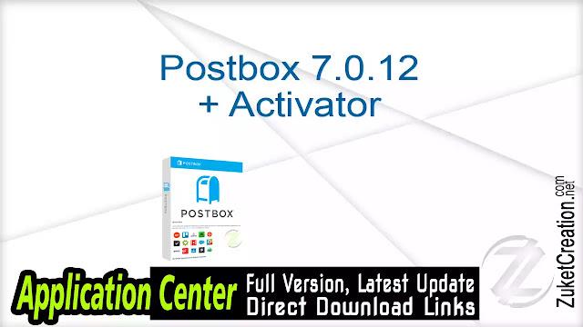 Postbox 7.0.12 + Activator