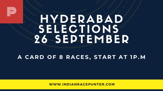 Hyderabad Race Selections 26 September