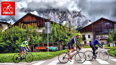 self cycling on Dolomites- easy routes cycling lane in cortina d'ampezzo