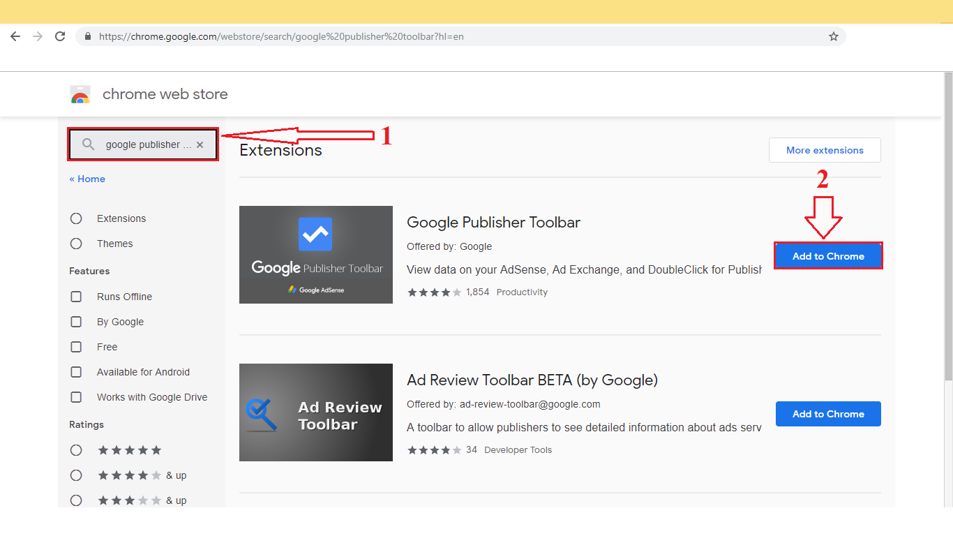 how to install google publisher toolbar in chrome - mobile technical