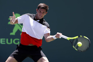 Delbonis wins in Indian Wells, earns showdown with Federer