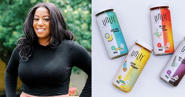 Lia Lee, founder of Unlit beverages