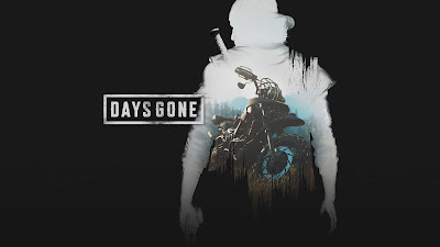 The days are gone against a dark background