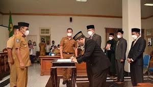 Wali Kota Bima Lantik 3 Pejabat Eselon II