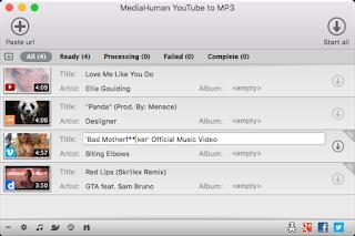 أفضل برنامج لتحميل الفيديو بصيغة MediaHuman YouTube to MP3 Converter3.9.8.15