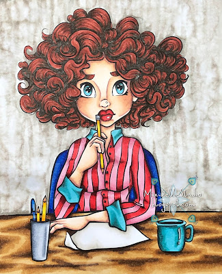 Working Girl from Krista Leigh Smith Saturated Canary