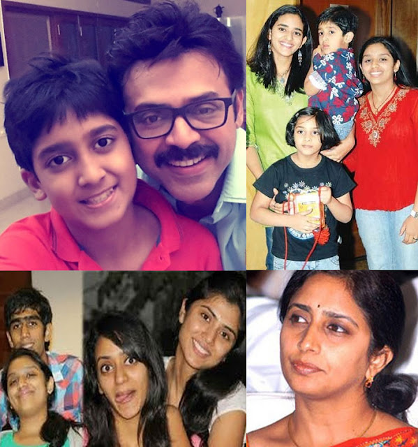 Arjun Daggubati Family Photos