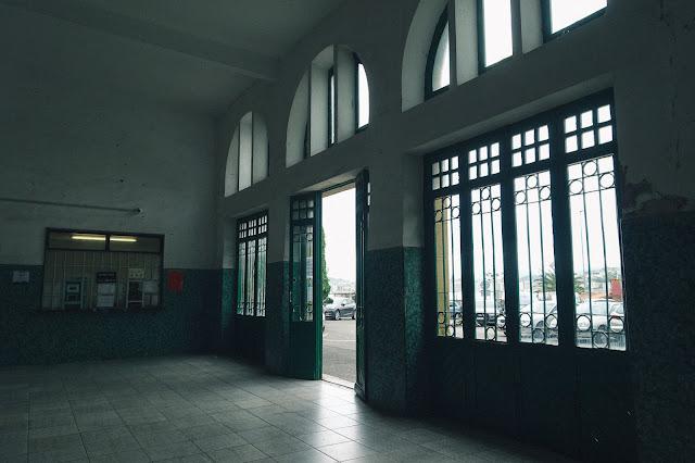 モンテ・イゲルドのフニクラ乗り場