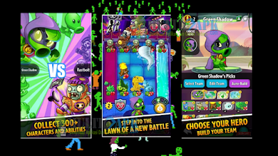 Plants vs Zombies Heroes Mod Unlimited Sun + HP v1.10.22 Apk