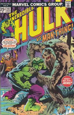 Incredible Hulk #197, Man-Thing