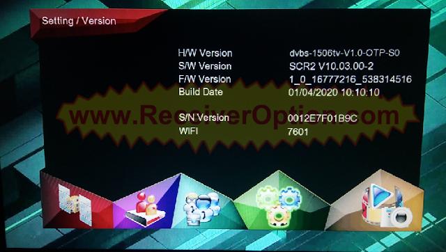 1506TV 512 4M FERARRI 888 + NEW SOFTWARE WITH ECAST OPTION