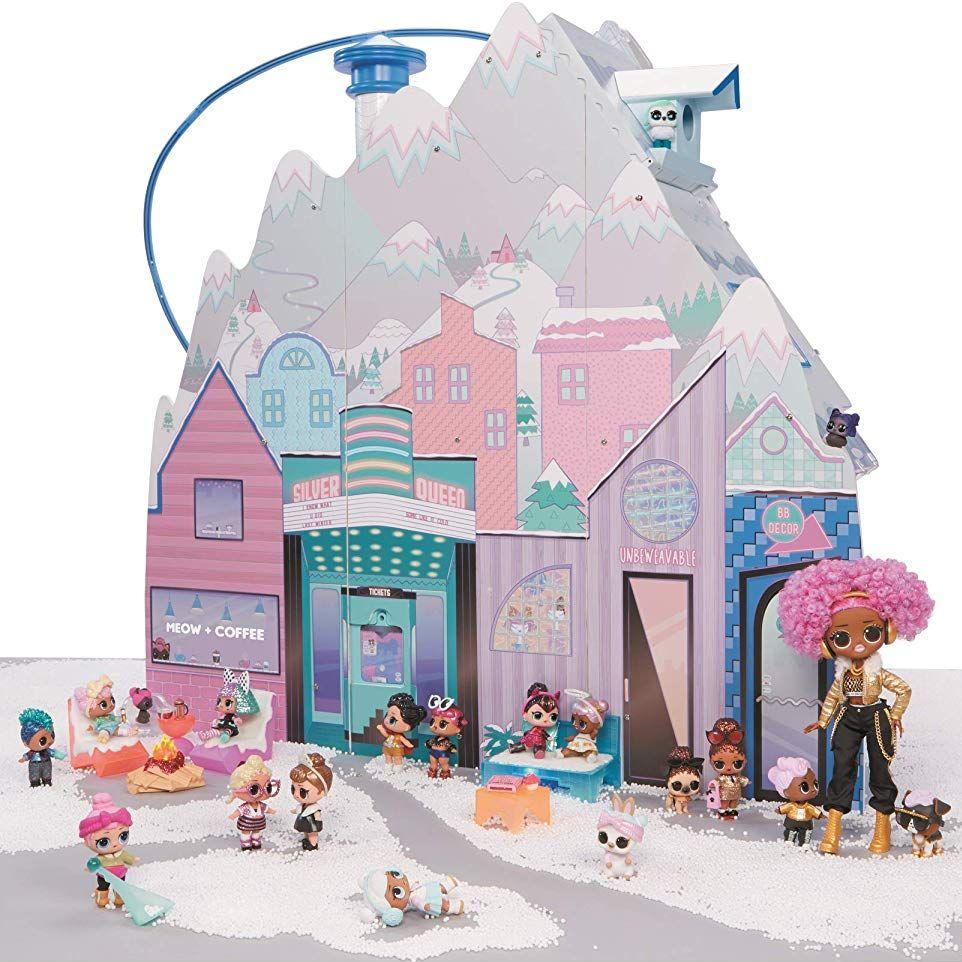 Кукольный дом L.O.L. Surprise Chalet 95 сюрпризов 2019 год