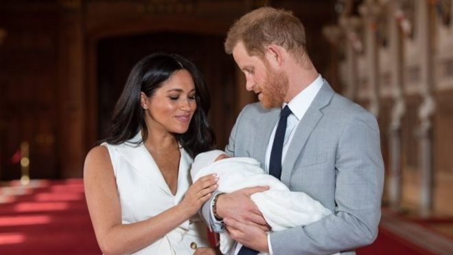 Harry and Meghan sue over 'drone photos' of son Archie