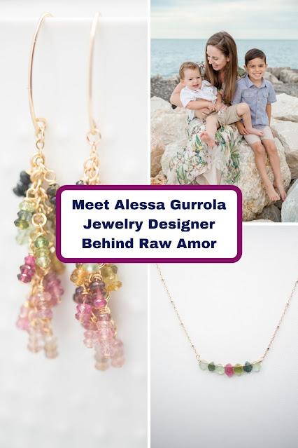 Meet Alessa Gurrola Jewelry Designer and Entrepreneur Behind Raw Amor