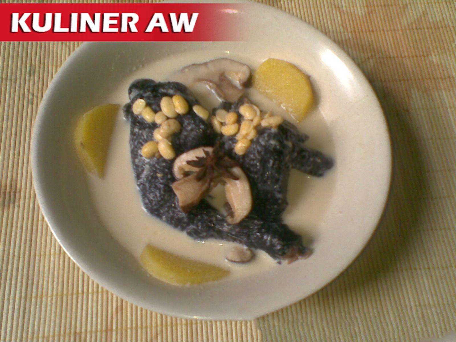 resep ayam hitam masakan mama mudah Resepi Nasi Beriani Kukus Enak dan Mudah