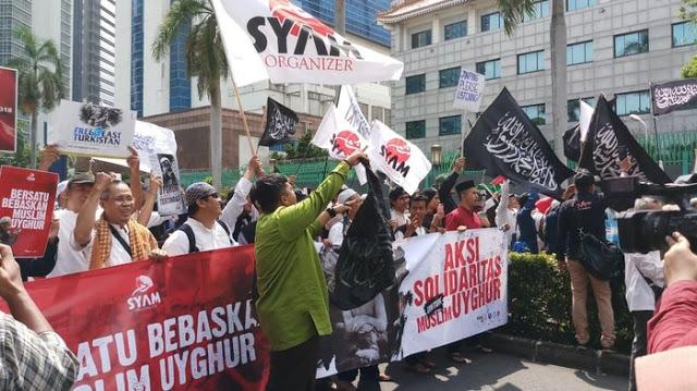 Aksi Nasional Selamatkan Muslim Uyghur, Ormas Islam se-Indonesia Bakal Geruduk Kedubes China