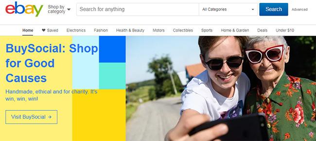 أشهر مواقع التجارة الالكترونية العالمية، ئي باي، eBay
