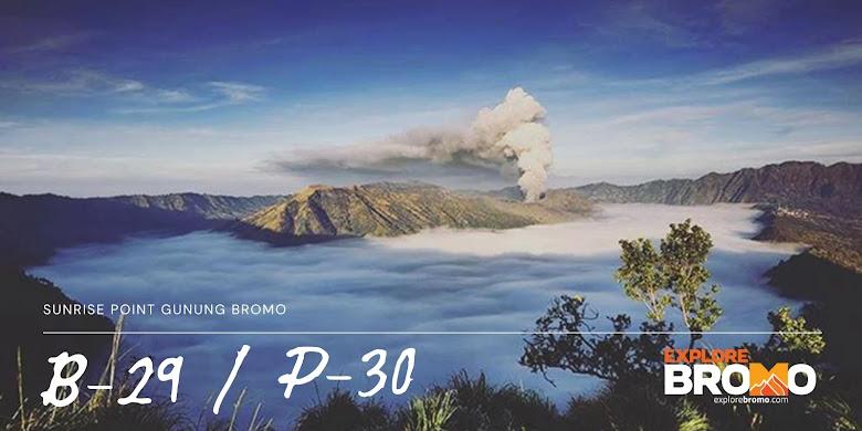 puncak B29 dan P30 Lumajang