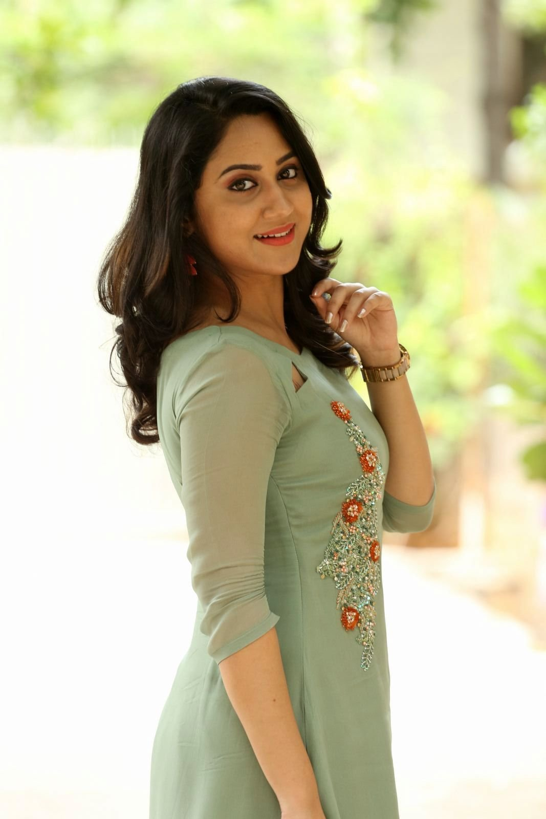 Actress Miya George Stills
