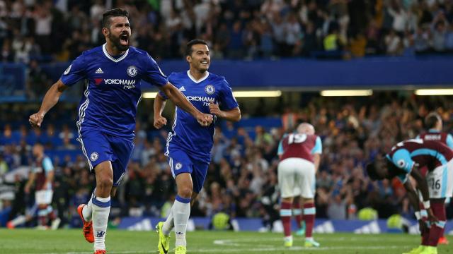 [Video] Cuplikan Gol Chelsea 2-1 West Ham (Liga Inggris)
