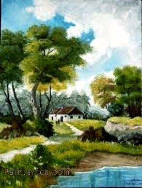 لوحات فنية جميلة من أجمل اللوحات المرسومة باليد